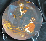 Rockwell The Tycoon Collector Plate
