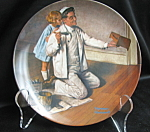 Rockwell The Painter Collector Plate