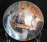 Knowles Rockwell Collector Plate