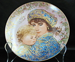 Knowles Hibel Catherine And Heather Collector Plate