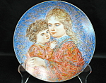 Knowles Hibel Erica And Jamie Collector Plate