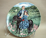 Knowles Rhett And Bonnie Collector Plate