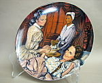 Knowles Melanie Gives Birth Collector Plate