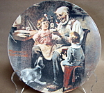 Rockwell The Toy Maker Collector Plate