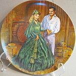 Knowles Scarlet's Green Dress Collector Plate