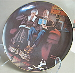 Knowles Evening Ease Collector Plate-