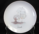 Precious Moments March Collector Plate