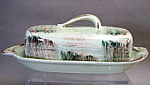 Vernon Raffia Butter Dish With Lid