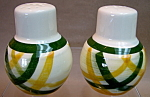 Vernon Gingham Salt And Pepper Shakers