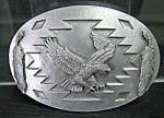 American Indian Style Belt Buckle