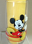 Disney Mickey And Minnie Mouse Glass