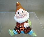 Disney Snow White Happy Dwarf Figurine