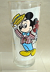 Mickey And Minnie Mouse Birthday Glass