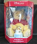 Winnie The Pooh Bear With Water Globe