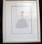 Cinderella Picture And Frame