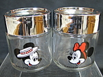 Disney Mickey And Minnie Mouse Salt And Pepper Shakers