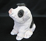 Stone Critters Pig Figurine