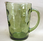 Anchor Hocking Dots / Drip Dots Pitcher