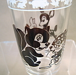 Swanky Swig Squirrel And Deer Glass