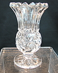 Crystal Footed Vase