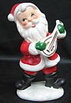 Santa Playing A Mandolin