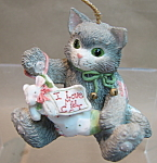 Enesco I Love My Cat Ornament
