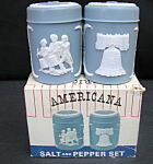 Salt And Pepper Shakers Americana