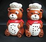 Bear Salt And Pepper Shakers