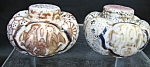 Oriental Style Salt And Pepper Shakers