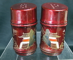 Oriental Salt And Pepper Shakers