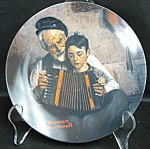 Knowles Rockwell The Music Maker Collector Plate