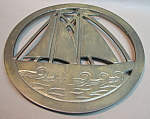 Brass Ship Trivet