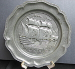 Spanish Galleon Ship Plate