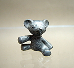 Pewter Teddy Bear Figurine