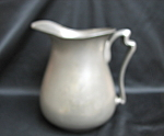 S. Rockford Silver Co Pewter Pitcher