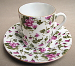 Chintz Cup And Saucer