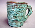 Frankoma Mayan Aztec Coffee Cup / Mug
