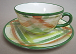 Vernon Ware Tam O'shanter Cup And Saucer