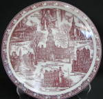 Vernon Philadelphia Collector Plate