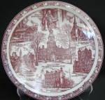 Vernon Philadelphia Collector Plate