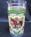 Kentucky Derby Glass 1981