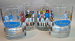 Santa Anita Jockey Glass Set