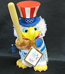 Olympic Sam The Eagle Plush Doll