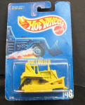 Mattel Hot Wheels Bulldozer