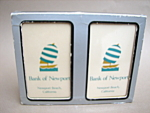 Bank Of Newport Beach Playing Cards