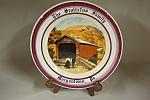 Covered Bridge Collector Plate