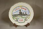 U.s.s Texas Battleship Plate