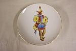 Hand-painted Indian Collector Plate