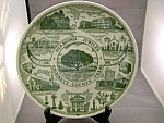 Crockett County, Texas Diamond Jubilee Plate