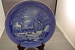 The Farmer's Home-winter Collector Plate